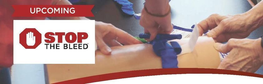 Stop the Bleed Courses for 2021, 1 April | Event in Thunder Bay | AllEvents.in