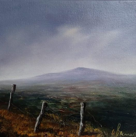 Oil painting workshop with Ann Brennan Artist Bray Co Wicklow