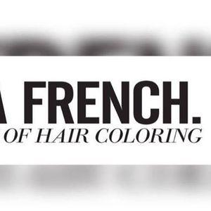 La French Balayage & Majirel Cool Cover