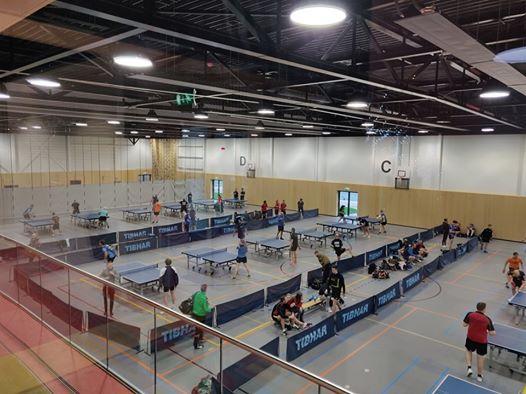 Tafeltennis toernooi Poldertoernooi 46e editie