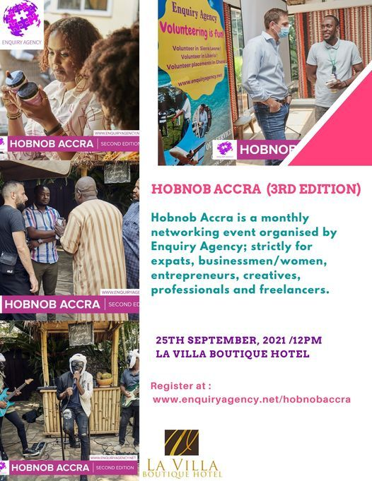 Hobnob Accra (3rd Edition)   Event in Accra   AllEvents.in