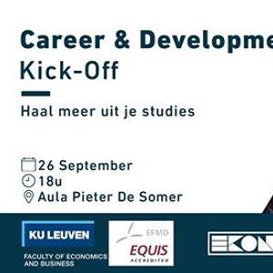 Career & Development Kick-Off - Ekonomika