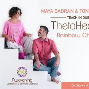 Thetahealing Rainbow Children for Adults-Dubai 2021- Maya