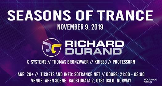 Seasons of Trance Fall Edition 2019