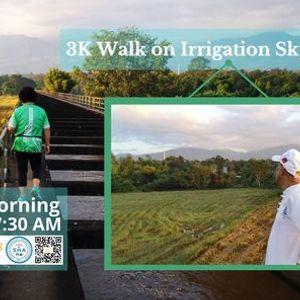 3K Walk on Irrigation Skyway