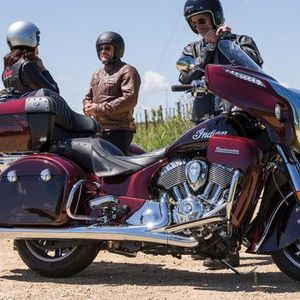 Indian Motorcycle Riders Group meet-up at MCN Festival