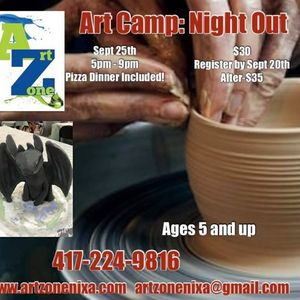 Art Camp Night Out