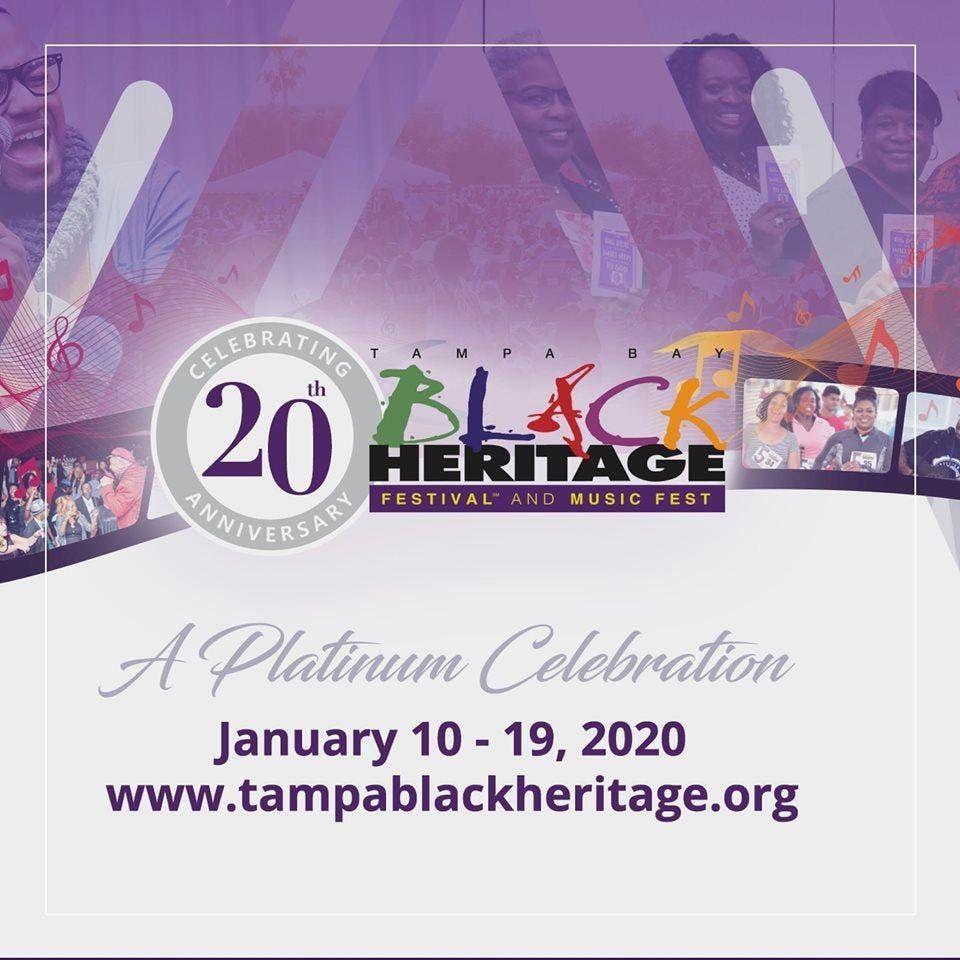 Black Heritage Festival 2020 Tampa Bay Black Heritage Music Fest 2020 at Curtis Hixon