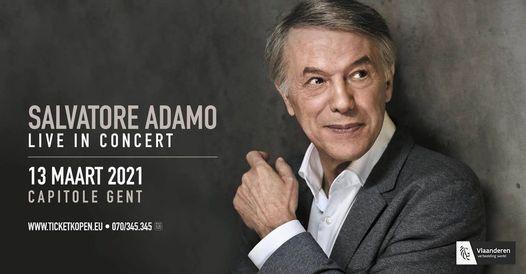 Salvatore Adamo, 19 December   AllEvents.in