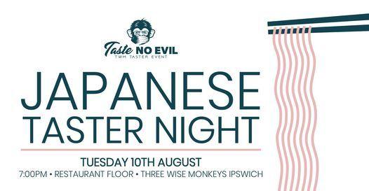 Japanese Taster Evening (Ipswich), 10 August | Event in Ipswich | AllEvents.in