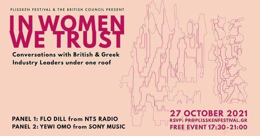In Women We Trust, 28 October   Event in Palaio Faliro   AllEvents.in