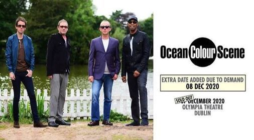 Ocean Colour Scene, 7 December | Event in Dublin | AllEvents.in