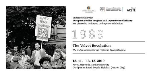 1989 The Velvet Revolution Exhibit