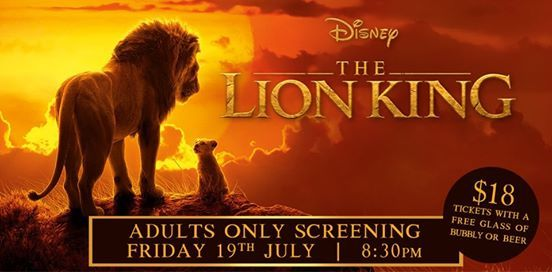 The Lion King Adults Only Screening