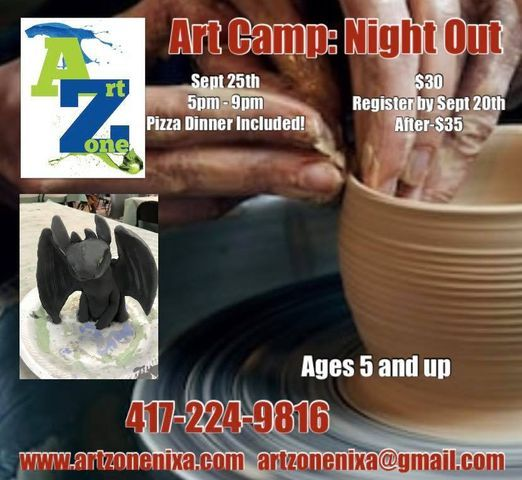 Art Camp: Night Out | Event in Nixa | AllEvents.in