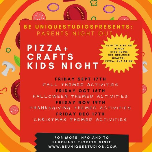 Parents Night Out - Pizza and Crafts, 15 October   Event in New Philadelphia   AllEvents.in
