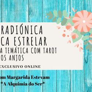 Mesa Radinica com oferta Leitura Temtica Tarot dos Anjos