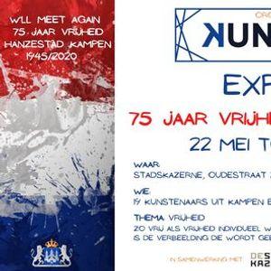 Expositie 75 jaar Vrijheid Nu en Toekomst 22 mei tm 17 juli 2021