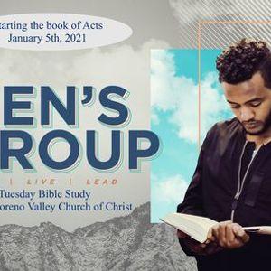 Mens Group Bible Study