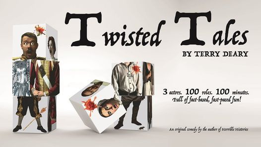 Terry Deary's Twisted Tales, 31 July   Event in Blackburn   AllEvents.in