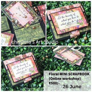 Floral MINI ALBUM WORKSHOP