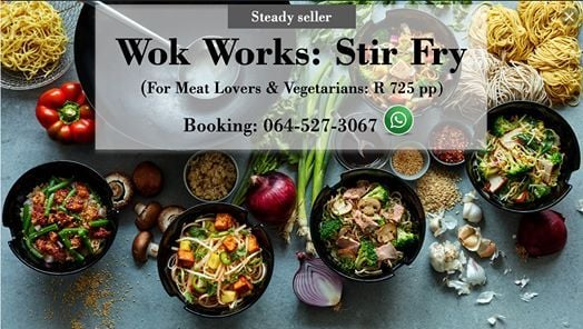 Wok works  Stir fry (Sold out)