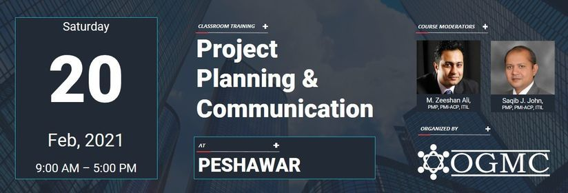 Project Planning & Communication [Peshawar], 20 February | Event in Peshawar | AllEvents.in