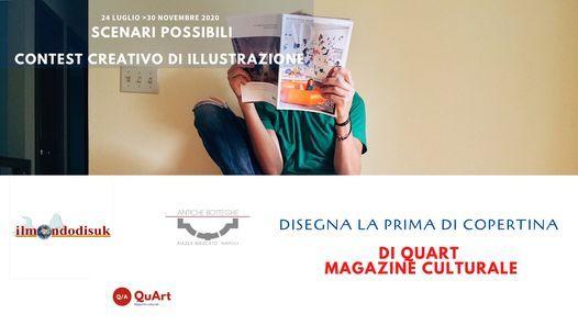 Gara di illustrazione per la copertina di QuArt, 30 November   Online Event   AllEvents.in