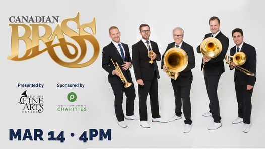 Canadian Brass Presented by Beaches Fine Arts Series, 14 March | Event in Jacksonville | AllEvents.in