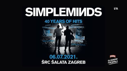 Simple Minds u Zagrebu!, 6 July | Event in Zagreb | AllEvents.in