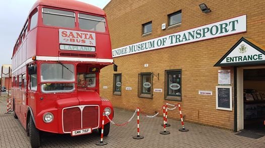 Dundee Museum Of Transport >> Santas On The Bus At Dundee Museum Of Transport Dundee