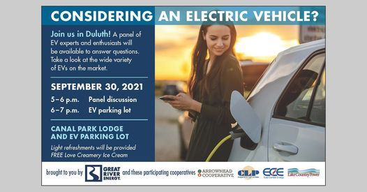 North Country EV Show and Tell, 30 September   Event in Duluth   AllEvents.in