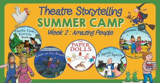 Theatre Storytelling Summer Camp 47 Yrs