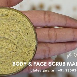 Body & Face Scrub Making