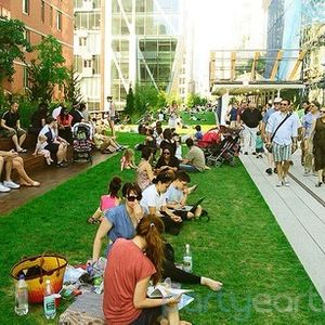 Picnic on the High Line