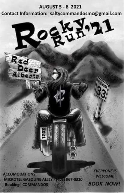 Rocky Run Rally. Commandos Canada MC, 4 August | Event in Red Deer | AllEvents.in