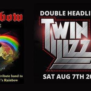 Longfield Live Rainbow Rising & Twin Lizzy Double Header