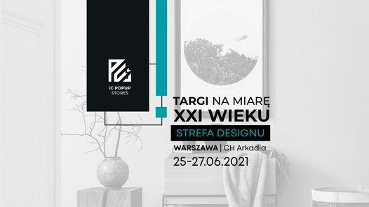STREFA DESIGNU | Targi wzornictwa i designu | CH Westfield Arkadia, 25 June | Event in Warsaw | AllEvents.in