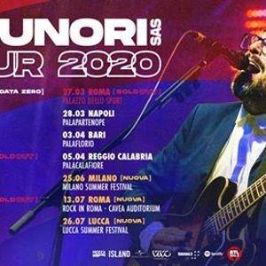 Brunori Sas - 13 luglio Roma Auditorium Parco della Musica
