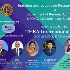 TERA International Summit 15th November 2021