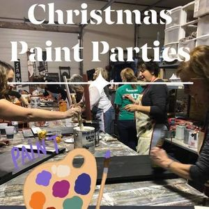 Christmas Paint Parties - Group Bookings