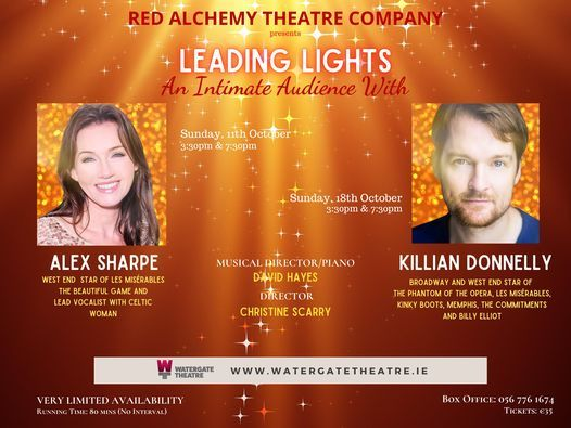 Leading Lights - An Intimate Audience With Killian Donnelly | Event in Kilkenny | AllEvents.in
