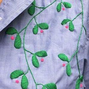 Borduren op eigen kledij met Eva V. in Texture