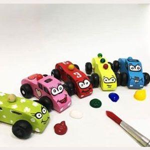 Digital DIY] Toy Car Painting Class