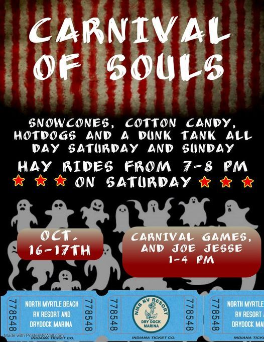 Carnival of souls Weekend, 16 October | Event in Little River | AllEvents.in