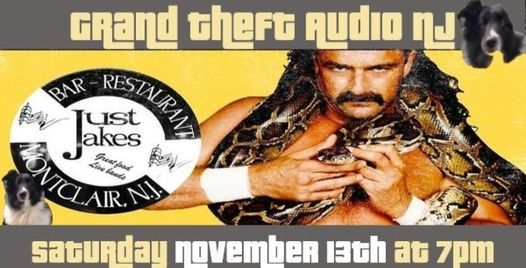 Grand Theft Audio NJ debut at Just Jake's, 13 November | Event in Montclair | AllEvents.in
