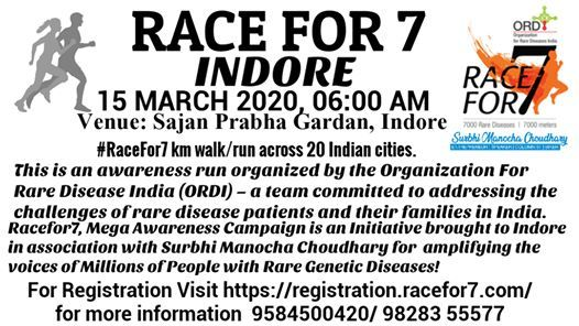 RACE FOR 7 - INDORE