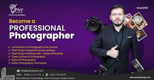 Become a Professional Photographer (Beginner to Pro), 30 October | Event in Lahore | AllEvents.in