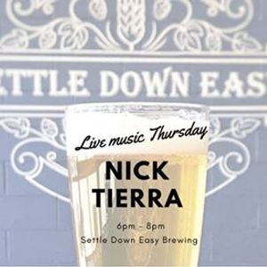 Live Music with Nick Tierra
