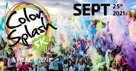 HEAL Color Splash 5K Run/Walk 2021, 25 September | Event in Hagerstown | AllEvents.in